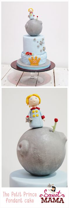 The Little Prince Cake, by Sweetmama.