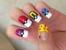 Resultado de imagen para uñas de pikachu