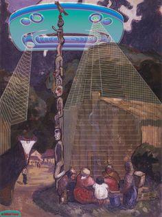 Sonny Assu / We Wai Kai, Weiwaikum, Kwakwa̱ka̱'wakw, arte, pintura Terra Nullius, Burke Museum, Vancouver Art Gallery, The Spectre, Seattle Art Museum, Arts Award, First Nations, Teaching Art, Contemporary Artists