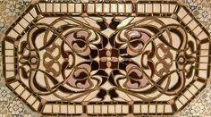 """Mosaico Original Wall Art Nouveau gráfico"""" """"Decoração Azulejo De Cerâmica Artesanal"""