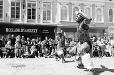 Zulu Tradition at Beats and Bells (day of dance) in Shrewsbury organised by Shrewsbury Morris. 2015