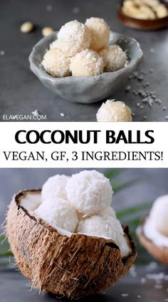 Vegan Sweets, Healthy Sweets, Healthy Dessert Recipes, Mexican Food Recipes, Sweet Recipes, Delicious Desserts, Vegan Recipes, Yummy Food, Coconut Recipes Healthy