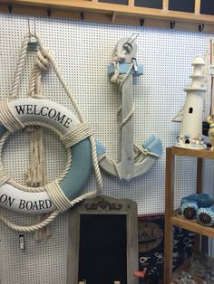Anker, Rettungsring, maritim, Living
