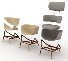 Elysia chair by Luca Nichetto for De La Espada