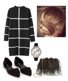"""""""Black & White"""" by smefford ❤ liked on Polyvore featuring Nly Shoes, Kate Spade, Olivia Burton, women's clothing, women's fashion, women, female, woman, misses and juniors"""