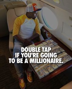 Don't say I wanna be rich or I wanna have a million. You have to make a plan and stay dedicated everyday to reach it.  #makemoneyonline #financialfreedom #makemoney #lifestyle #freedom