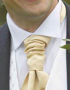Champagne gold tie.