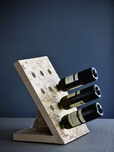 12 Wine Storage by Alexandros Papadopoulos Woodworking For Kids, Cool Woodworking Projects, Wine Stand, Wine Display, Wood Wine Racks, Wine Storage, Plywood Furniture, Wood Design, Decoration