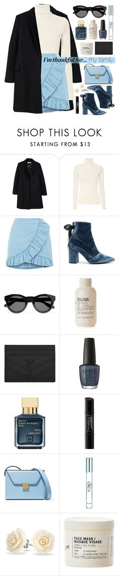 """I'm Thankful For... ★ Top Set"" by mylkbar ❤ liked on Polyvore featuring MANGO, self-portrait, Givenchy, Le Labo, Yves Saint Laurent, OPI, John Lewis, Smashbox, Victoria Beckham and Calvin Klein"