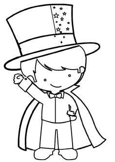 Magic Decorations, Circus Decorations, School Decorations, Coloring Sheets, Coloring Books, Coloring Pages, Colouring, Magic Theme, Magic Party