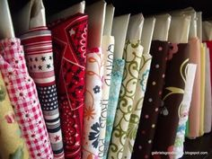 storage for small scraps of fabric