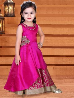 Shop Magenta dressy silk indo western online from G3fashion India. Brand - G3, Product code - G3-GSS0561, Price - 2290, Color - Magenta, Fabric - Silk,