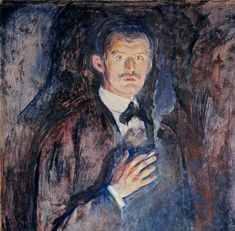 Edvard Munch the expressionist artist from Norway