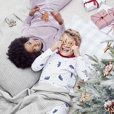 A really useful pack-of-two long-sleeve pyjama styles, our popular duos are a great gifting idea this Christmas. This pack includes one pure-cotton style with our new all-over Lumi polar bear print, while the other has all-over yarn-dye stripes. Little White Company, Baby Kids, Baby Boy, Long Sleeve Pyjamas, Toddler Boy Fashion, Christmas Pyjamas, Baby Sale, Cotton Style, Pajama Set
