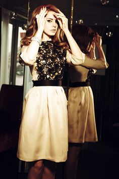 Unpublished image of Lana Del Rey's shoot for her Vogue Italy feature, shot by Ellen Von Unwerth, 2012