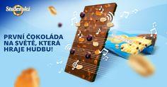 Studentská pečeť. První čokoláda na světě, která hraje hudbu.