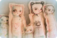 Primitive art dolls - Timssally