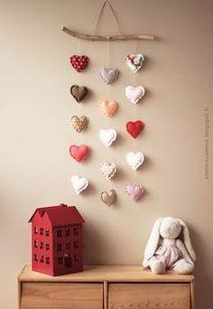Wunderschöne Wanddekoration für ein Babyzimmer