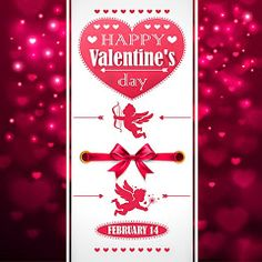Beautiful Valentine's Day Greeting Cards
