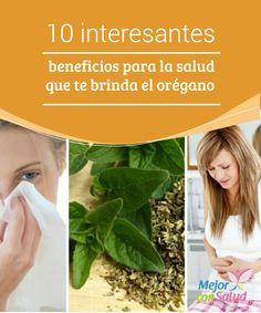 10 interesantes beneficios para la salud que te brinda el orégano   El orégano es una especia aromática que además de sus usos culinarios aporta beneficios a la salud. Te compartimos los 10 más importantes.