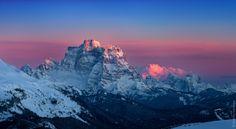 Monte Pelmo in Sunset by Dmitriy Vorobey