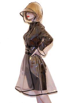 Crystal Clear Raincoat
