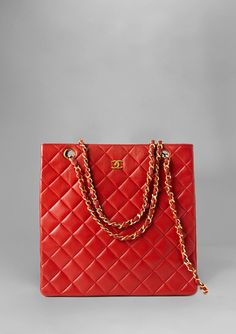 CHANEL North South Quilted Day Tote