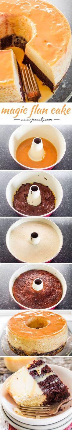 Magic Flan Cake