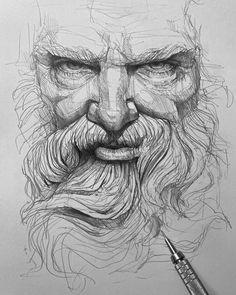 Pencil Portrait Drawing, Realistic Pencil Drawings, Portrait Sketches, Art Drawings Sketches Simple, Pencil Art Drawings, Pencil Sketches Of Faces, Self Portrait Art, Drawing Portraits, Face Sketch