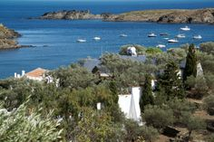 One of the major tourist attractions in Cadaqués is the former home of artist Salvador Dali.