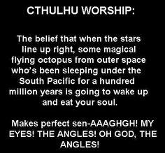 ^(;,;)^ #cthulhu #worship #humor #lovecraft
