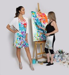 Introducing my signature label, Claire Desjardins by Carré Noir. We make colourful women's wear: dresses, jackets, scarves and more. Our inaugural Spring 2019 collection will be sold in stores throughout Canada and the USA! Click on link to view list of stores.