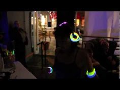 Lululemon Athletica hosted a silent disco glow party at their event in Santa Monica, CA in March 2012.     Video created by Armin Razmy.