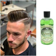 #howtogetthelook by Adrian Nita - GETT'S Men Barber Shop Plaza România Drumul Taberei Militari Barber Mind Forest Hair Tonic este lotiunea tonica perfecta pentru vara dar nu numai. Produsul este unul foarte benefic pentru scalp dar in acelasi timp ajuta la intarirea si insanatosirea firului de par. #gettssalons #gettsmen #barbershop #haircut #barbermind Barber Shop, Get The Look, Romania, Drink Bottles, Barware, How To Get, Military, Barbers, Barbershop