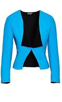 NBC Fashion Star reversible 'Bobbie' jacket designed by Sarah Parrott. CUTE!
