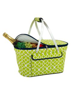 Trellis Collapsible Basket Cooler from Outdoor Dining on Gilt