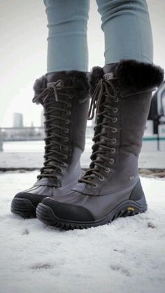 Snow boots for workin on Mt. Charleston