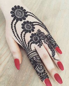 Trendy Jewellery Mehndi Designs for Girls - Kurti Blouse Mehndi Designs 2018, Mehndi Designs For Beginners, Mehndi Designs For Girls, Unique Mehndi Designs, Wedding Mehndi Designs, Mehndi Designs For Fingers, Beautiful Henna Designs, Arte Mehndi, Mehendi