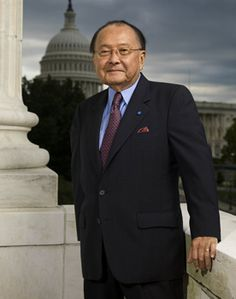 Daniel Inouye, wounded second Lt. Inouye crawled to the top slope and tossed two grenades destroying the machinegun that was firing on his men. Another bullet fired shatters his right arm, he continues and throws another grenade which took out the firing pit. Medal of Honor Awarded.. (1924-2012)