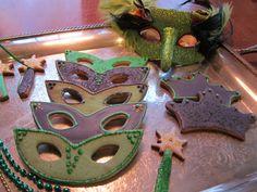 mask cookies! love!