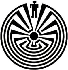 With a gleaming labyrinth design, this Southwest Man in the Maze Metal Wall Art quickens the senses as it challenges the mind to find the correct route through the maze. Carefully laser cut from steel Labyrinth Tattoo, Labyrinth Maze, Labyrinth Garden, Indian Symbols, Ancient Symbols, Native American Symbols, Native American Indians, Pima Indians, Man In The Maze