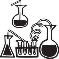 Simple and Bold Science Icon Clip Art Freebie   Science ...