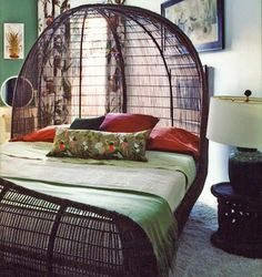 awesome wicker bed - Wicker Bed Frame