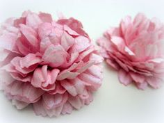 video tutorial for flower from paper flowers