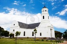 Picture of old church building in George, South Africa stock photo, images and stock photography. George South Africa, Church Building, Road Trip, Stock Photos, Mansions, 3d Design, Crosses, House Styles, Places