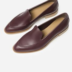Everlane Modern Loafer in Oxblood
