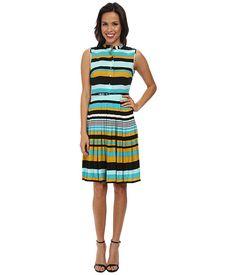 Calvin Klein Calvin Klein  Shirt Dress CD4H5096 Chartreuse Multi Womens Dress for 77.99 at Im in!