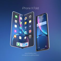 Apple is looking at the Samsung Galaxy Fold phone to make its iPhone X Fold smartphone.Check the full article to find out more about the iPhone Fold. Apple Iphone, Ios Phone, Iphone Phone, Coque Iphone, Steve Wozniak, Keynote Apple, Nouvel Iphone, Get Free Iphone, Android