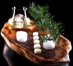 The Cedar – Gin, Pear, Cedar Air, Chamomile, Cacao Earth | Molecular Recipes