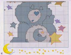 Cross Stitch: Ursinho carinhoso